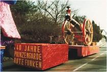 Saalbau Wirtz, Katharina Müller, Rote Funken
